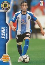 N°130 PENA # HERCULES.CF CARD PANINI MEGA CRACKS LIGA 2011