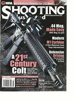 SHOOTING ILLUSTRATED, MARCH, 2013  ( BEST BALLISTIC RETICLES FOR .223 REM )