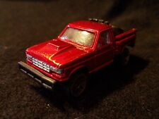 Red Maisto Pick-up Truck Collectible Die Cast Toy Shiny