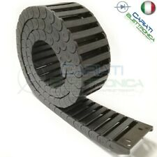 Catena Nera Passacavi Portacavi Porta Cavo 10x40mm 1 metro CNC Stampante 3D