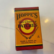 Vintage Hoppe's Gun Cleaning Patches Box No. 3 And 4 (4 Is 25% Full - 3 If Full)