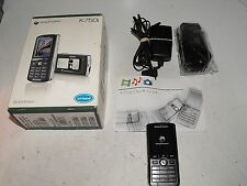 "Sony Ericsson K750i Tri Band Black Phone On Optus Network ""Great Little Phone"""