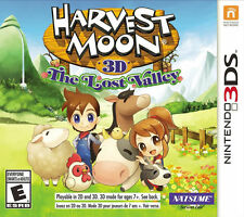 Harvest Moon 3D: The Lost Valley (Nintendo 3DS, 2014)