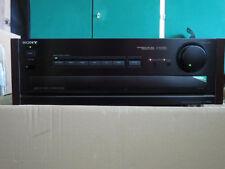 Sony TA-F707ES Esprit mit Fernbedienung, Holzseitenteilen Verstärker schwarz