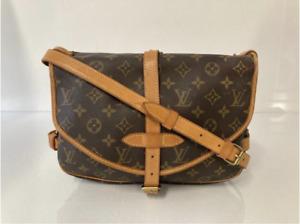 Louis Vuitton Monogram Saumur 30 Messenger Shoulder Handbag