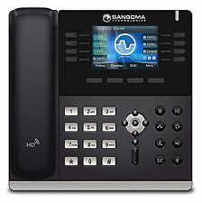 Sangoma S505 VoIP Phone With Poe or AC Adapter Separately