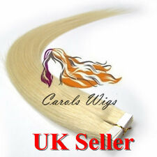 "8A Best Quality 14''-24"" Tape-In Russian Remy Human Hair Extensions UK Sell 1st"