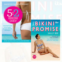 Sally Bee and Jacqueline Whitehart 2 Books Collection Set (The Bikini Promise)