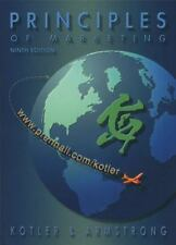 Principles of Marketing with CD (9th Edition)