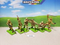 Britains Deetail WW2 Japanese Infantry set of 6 (lot 3283)