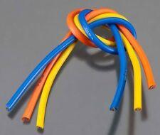 TQ Wire RC Wiring 1104 10 Gauge Wire 1' BL 3-Wire Kit Blue/Yellow/Orange