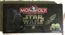 1996 MONOPOLY STAR WARS LIMITED EDITION SEALED