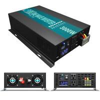 3000W DC to AC Power Inverter Pure Sine Wave Inverter 18V to 120V Battery Backup