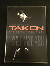 TAKEN DVD, 2009, Extended Cut; Includes Digital Copy