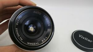 Auto Tamron 35mm f2.8 Nikon F Adapt A Matic Mount Lens - SLR/Mirrorless Cameras