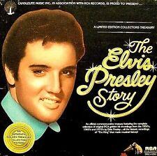 """ELVIS PRESLEY """"THE ELVIS PRESLEY STORY"""" (5 LP BOX SET) PREMIUM USED LP (NM/EX)"""
