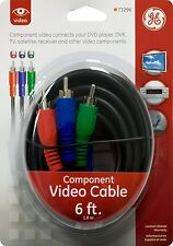 ~* GE 73296 6-ft. Video Component Cable  *~