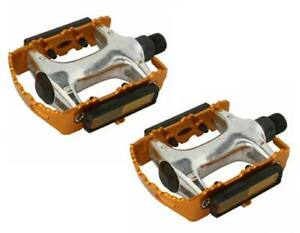 """GOLD ROAD MTB 940 Alloy Pedals 9/16""""  cruiser 9/16 pedal.fixie bicycle pedal"""