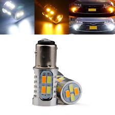 10Pcs P21W S25 1157 BAY15D Switchback 20SMD 5730 LED Bulbs Turn Signal Lights