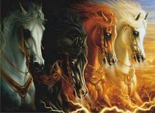 ANATOLIAN PUZZLE THE FOUR HORSES OF THE APOCALYPSE SHARLENE LINDSKOG-OSORIO 1000