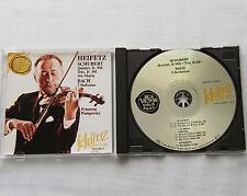 HEIFETZ Collection Vol.37 SCHUBERT Quintet, Trio BACH 3 Sinfonias GERMANY CD RCA
