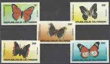 Timbres Papillons Niger 625/9 ** lot 7906