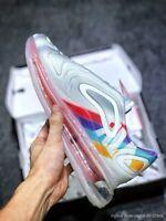 "Scarpe sneakers uomo Nike Air Max 720 ""Rainbow"", vari numeri, cod.AO2924-011"