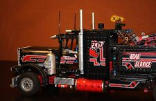 LEGO Technic 8285 - Bigger Black Recovery vehicle silver Edition VERY RARE