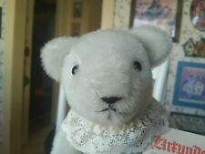 Rare Limited Edition gray mohair Althans Teddy Bear Germany #9 of 10 15in VGC+