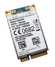 HuaWei EM820W 3G WCDMA GSM WWAN Card HSPA 21Mbps GPS Mini PCI-E Network Card