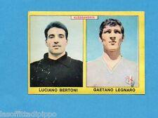 PANINI CALCIATORI 1966/67-Figurina - BERTONI+LEGNARO - ALESSANDRIA -Recuperata