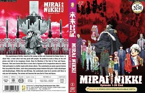 ANIME DVD~ENGLISH DUBBED~Mirai Nikki(1-26End+OVA)All region+FREE GIFT