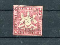 Württemberg Nr. 14 gest. Wappen