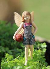 * Fairy Kyli * Miniature Fairy Garden 3″ Tall Nib Basketball Tomboy