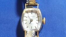 Tissot Shaphire 17 jewels Women's Watch Gold Plated Case and 10K G.F. Top Band