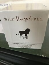 Wild Beautiful Free Organic Candle Hope