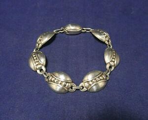 Vintage Georg Jensen Sterling Silver Bracelet #6 LINK Style Made in Denmark