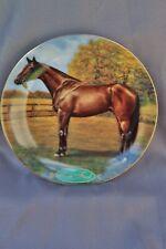 Danbury Mint Legendary Racehorses Tom Fool by Susie Morton Plate # A1575
