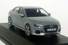 iScale 1/43 Scale - Audi RS 3 Limousine Saloon Nardo Grey RS3 Diecast Model Car