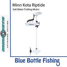 "Minn Kota Riptide PowerDrive SP SW Trolling Motor 55lb 54"" 12V Foot Pedal inc"