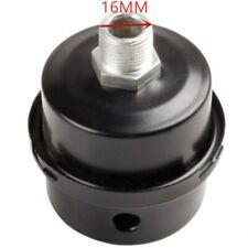 16mm 38 Thread Metal Air Compressor Intake Filter Noise Silencer Muffler Kits