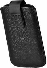 Genuine Leather Case iPhone Universal with Pullout Strap and Belt Loop V.goobay