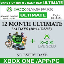 XBOX LIVE GAME PASS Ultimate 12 Months 26x14 Day - LIVE GOLD+GAMEPASS