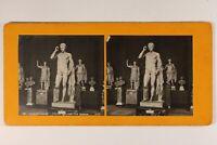 Francia París Museo Del Louvre Estatua DE Altavoz Romanos c1900 Foto Analógica