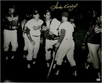 Sandy Koufax Hand Signed Autographed 16x20 Photo Dodgers Maury Wills Duke Snider