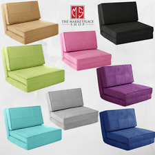 Flip Chair Bed Sofa Convertible Futon Sleeper Couch Dorm Small Room Apartment