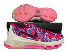 Nike KD 8 (GS) Tante Perle Cancer Du Sein Rose Floral 7Y Femmes 8.5 (837786-603)