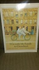 I GO WITH MY COUSINS TO GRANDMA'S - by Riki Levinson - Illus. by Diane Goode