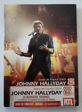 JOHNNY HALLYDAY STADE DE FRANCE 2009  TOUR 66