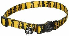 "COASTAL SAFE CAT BLACK TIGER SAFETY 8""-12"" BREAKAWAY COLLAR FREE SHIP IN THE USA"